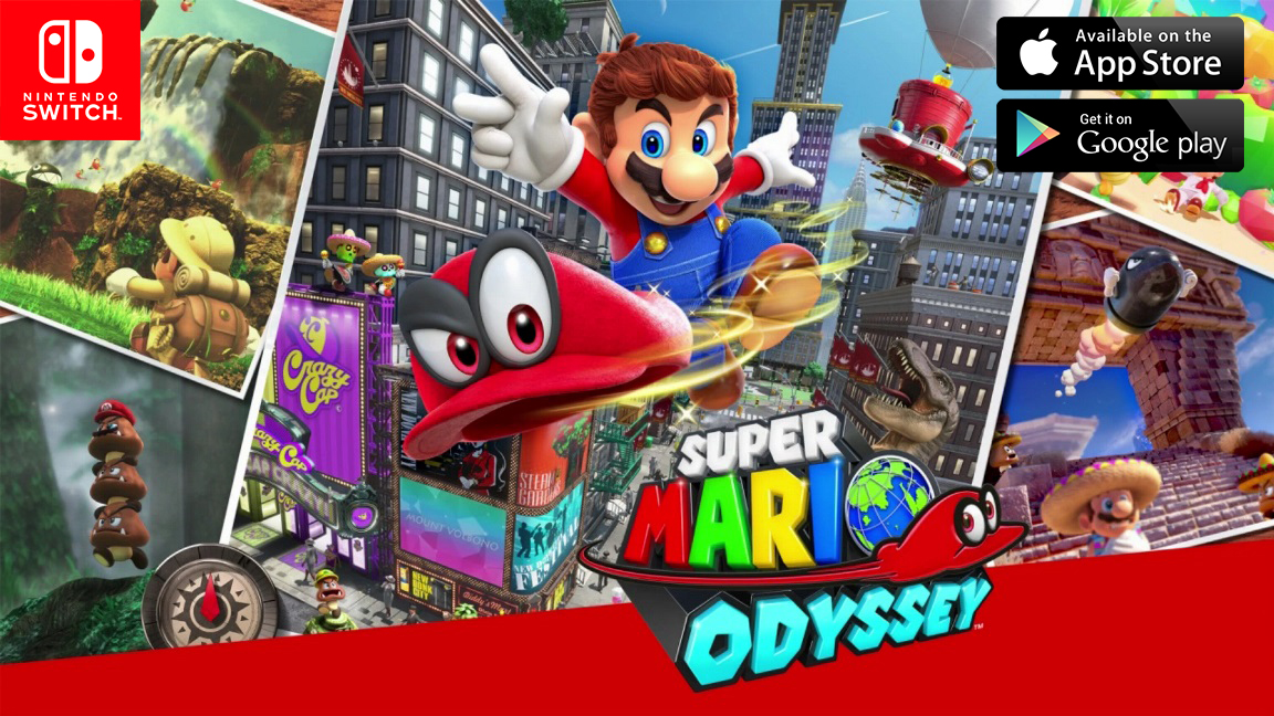 download super mario odyssey for ios